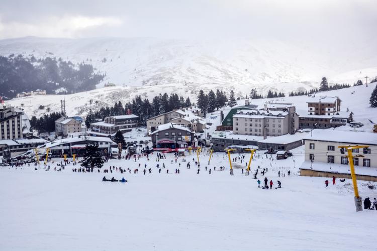 Kayak Merleri - Yarıyıl Tatili