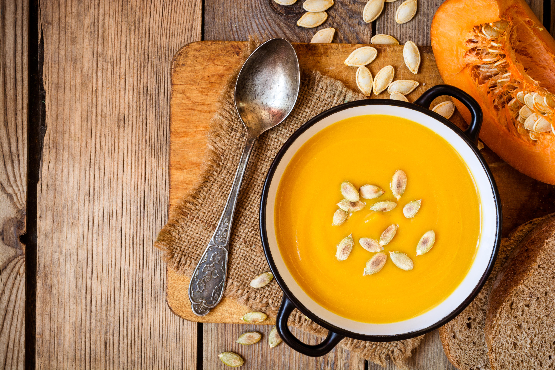 Balkabağı Çorbası - Yeni Yıl Sofranız İçin Tarifler