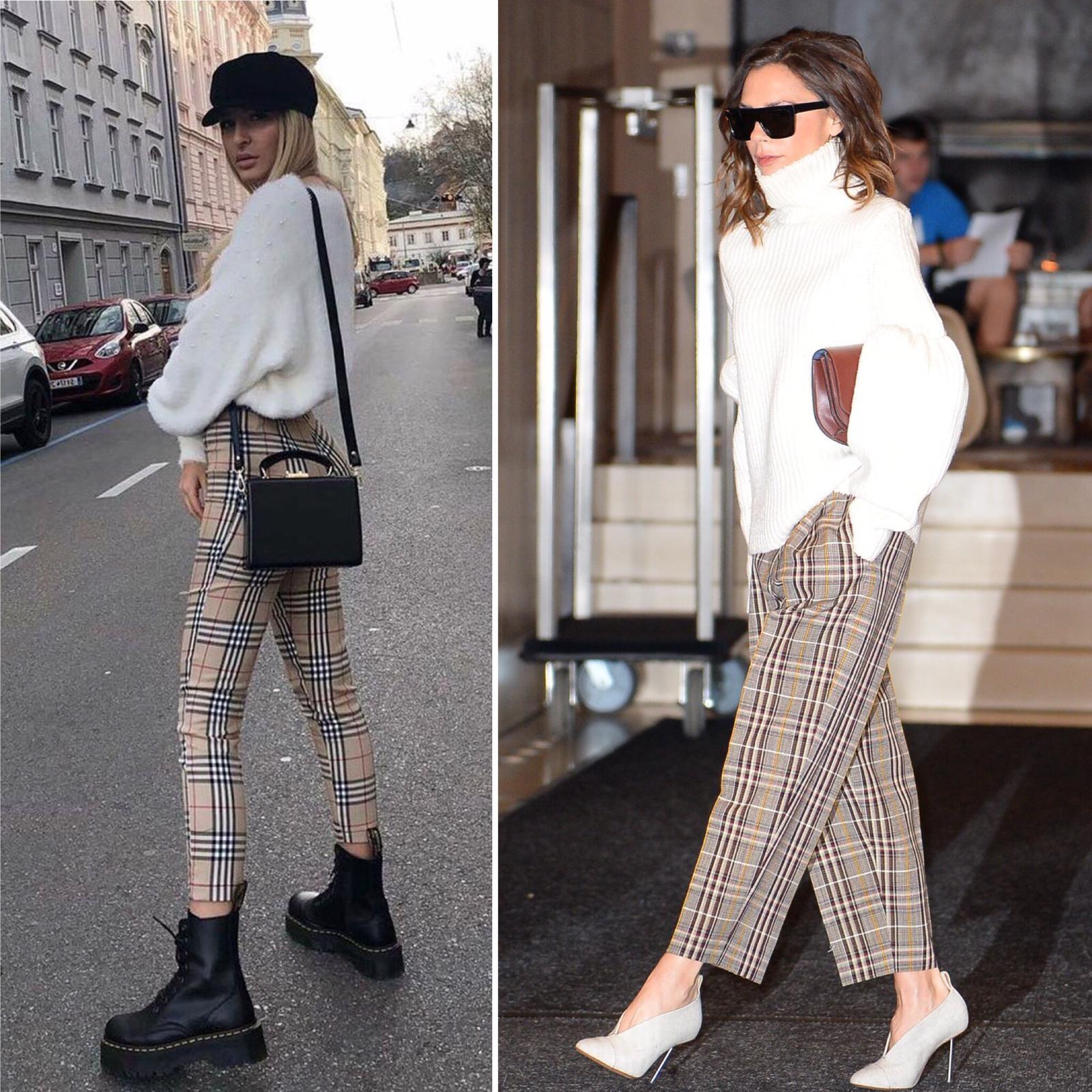 Ekose Pantolon - Sezon Trendi: Ekose Pantolonlar