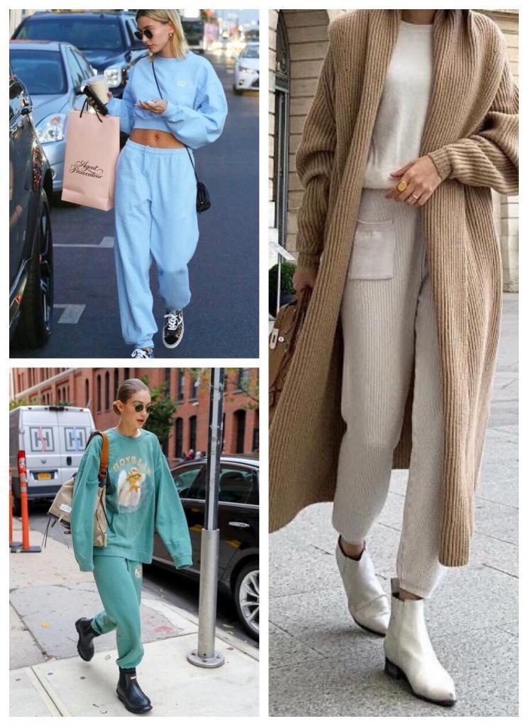 Trend Alarmı: Ev Giyimini Sokağa Taşıma - Hailey Baldwin Ikili Kombinleri Ile Göz Kamaştırıyor...