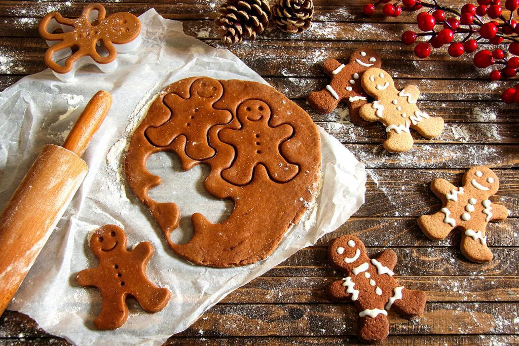 Gingerbread Kurabiye Yaplışı