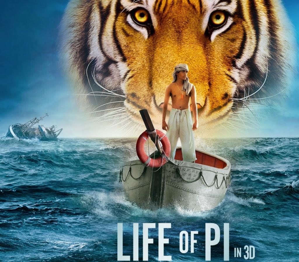 Life Of Pi - Pazar Günü İzlenecek 10 En Iyi Film