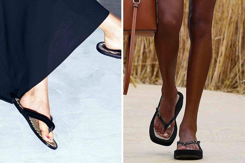 Parmak Arası Terlik - Ilkbahar / Yaz 2021 Ayakkabı Trendleri