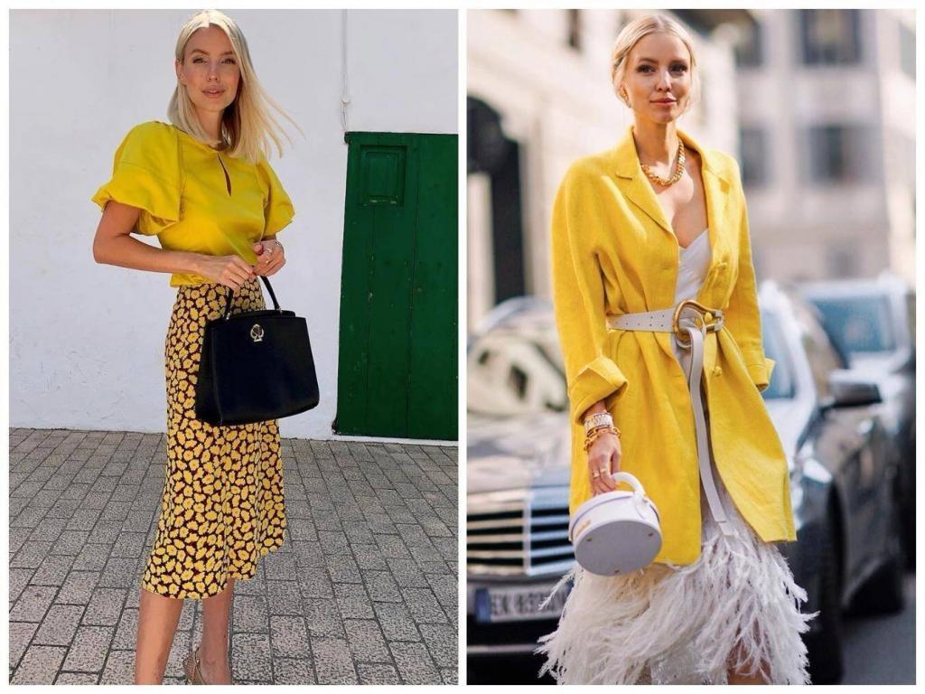 Sarı Renk Elbise - 2021 İlkbahar-Yaz Renk Trendleri