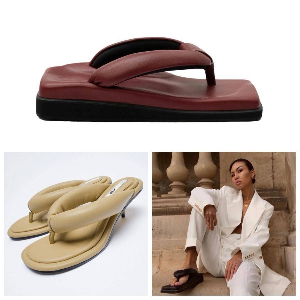 2021 Trend Parmak Arası Terlikler - 2021 4 Sandalet Trendi
